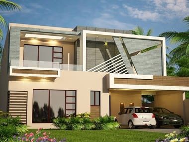 Rendered Images of House Exterior 3