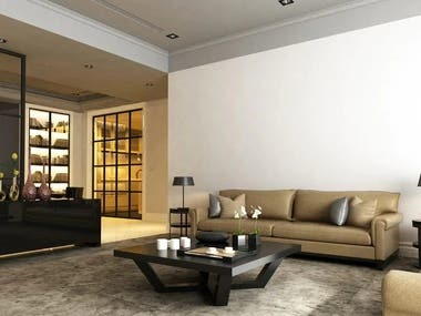 Rendered Images of House Interior 4