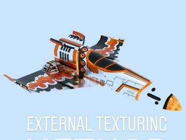 Stylish Textured Plane