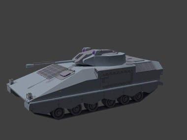 Hard Surface Tank
