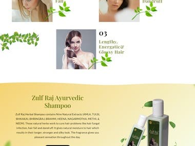 Product Show Case Website