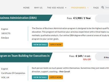 Online Education Site
