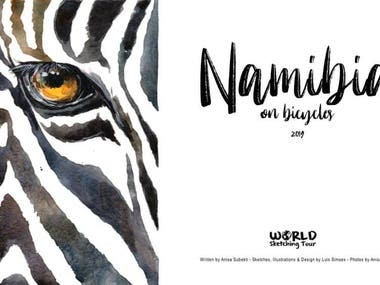 PDF Namibia on Bicycle in 3 languages