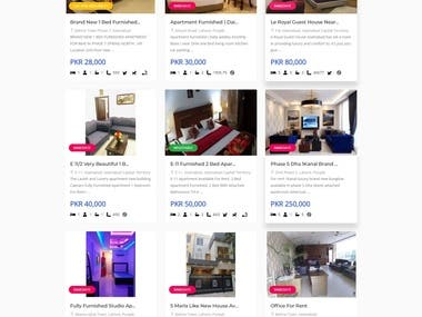 Real Estate Rental and Selling Website (www.udijaa.com)