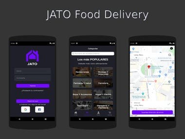 Jato Food Delivery Application