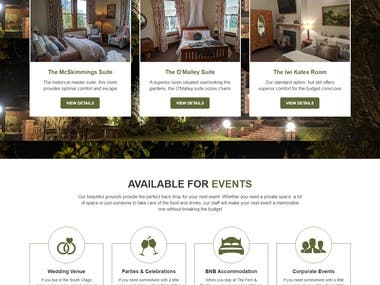 Room and Event Booking - fernandthistle.co.nz