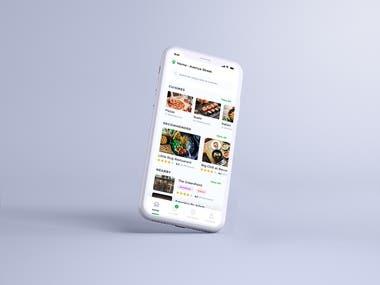 Restaurant finder application design