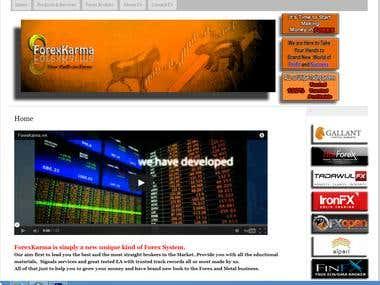 ForexKarma Website
