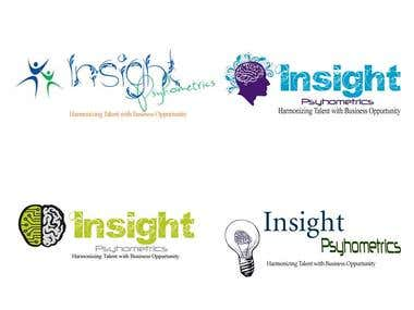 Logo Design for Insight Psychometrics.
