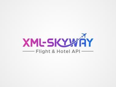 XML-SKYWAY Logo Design