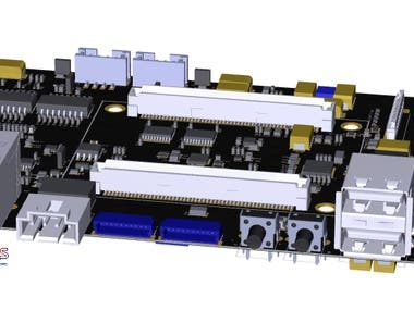 Single Board Computer for Industrial Control and Automation