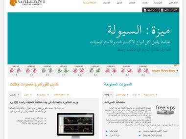 Gallant (gcmfx.com) Broker website translation