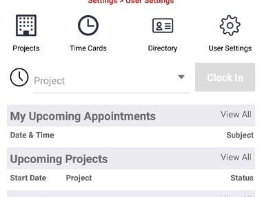Contractor Foreman(Project Management Software)