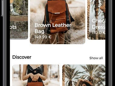 Shopify Store Mobile App