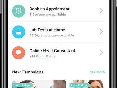 Doctor's Appointment Booking App