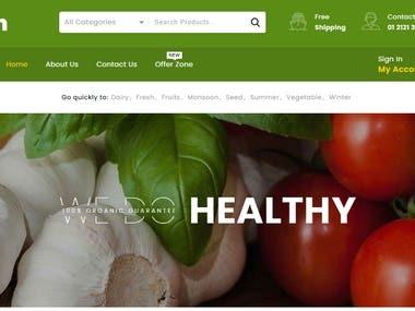 Organic Food Online Store