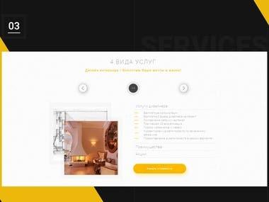 Apartment Repair Website Design