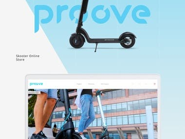 "Landing Page ""Proove"""