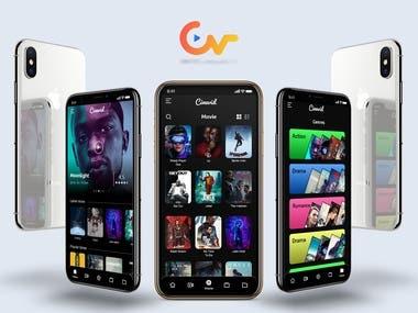 Cinevid app