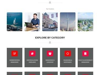 Website Designing/ Development (August/2020)
