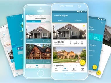 GoLocal Naples - White Label Real Estate App
