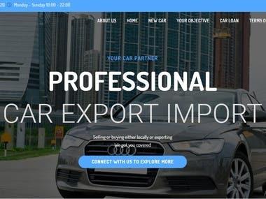 Singapore Car Trading Website
