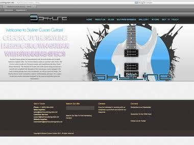 Skyline Custom Guitars.