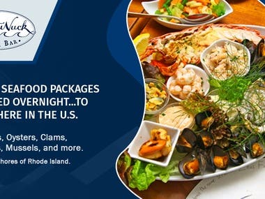 Sea Food Package - Ads Page