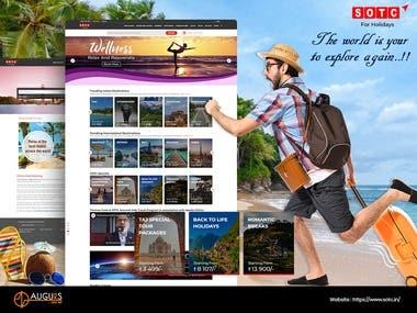 Tour & Travel Website