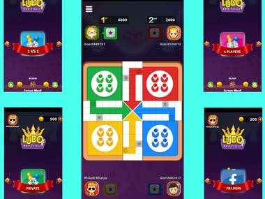 Ludo game development with Re-skin