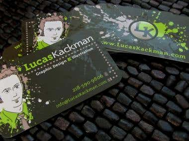 LucasKackman Business Cards
