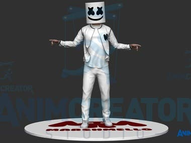 Marshmallow Character