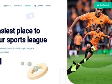 League Management System