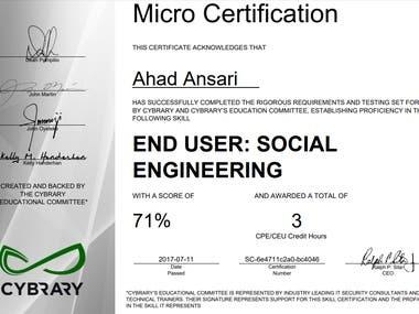 END USER: SOCIAL ENGINEERING