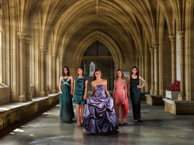 Publicity photos for Prom Dreams UK