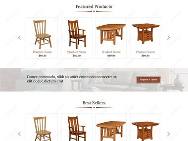 Ecommerce - Furniture Store