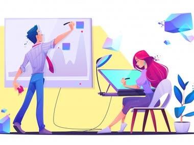 Creative 2D Animation
