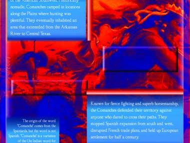 Comanche Museum Panel Ideation A
