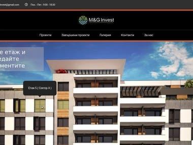 Real Estate website with ImageMap