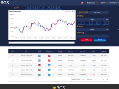 Betting site(laravel + react)