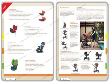 Product/Catalog Infographic