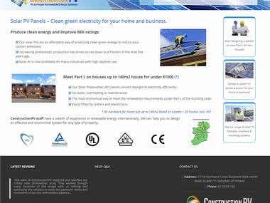 Develop and Design Wordpress Website