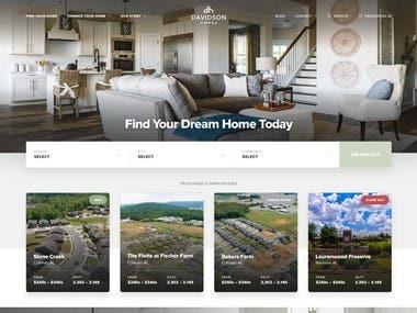 Davidson Homes LLC - MERN
