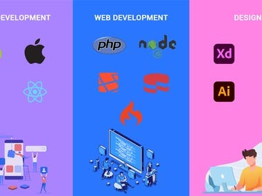 Mobile app , Web and UI/UX Develpment