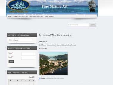 Louis J Dianni Auctions - Wordpress Site