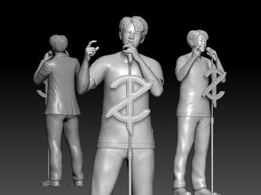 Character Sculpting using Zbrush