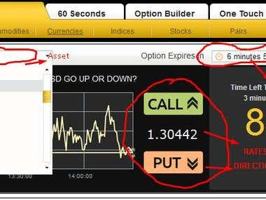 Binary Options AutoTrade Bot