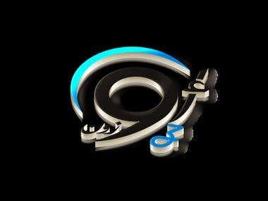 3D Presentation of Logo for Ozone International
