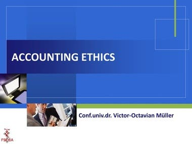 Accounting ethics in different countries: Differences and si