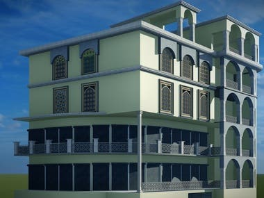 Exterior Design of existing building